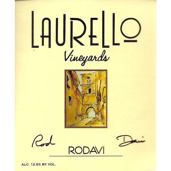 Rodavi wine at Laurello Vineyards