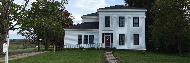 History of the Inn The Steward House in Pnama, New York