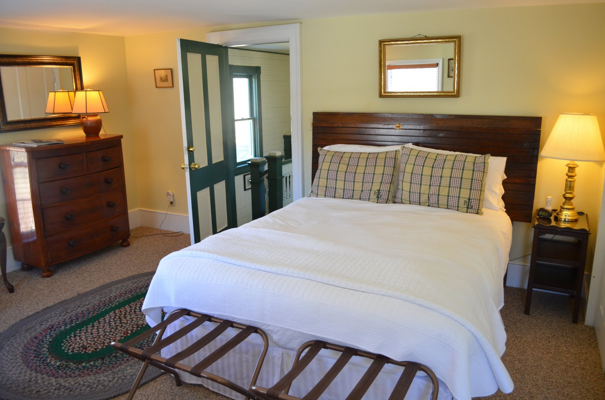 Wheat Room at the Inn at Gristmill Square in Warm Springs, Virginia