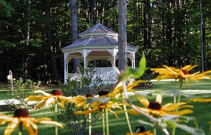 Gardens at 1868 Crosby House in Brattleboro, Vermont