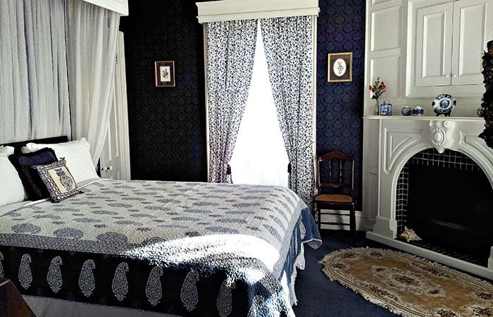 Guest Room at 1868 Crosby House in Brattleboro, VT