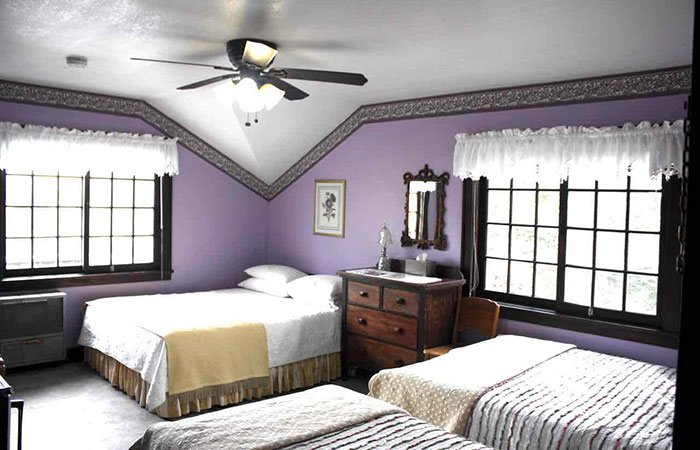 Room at Northland Lodge in Waterton Park, AB