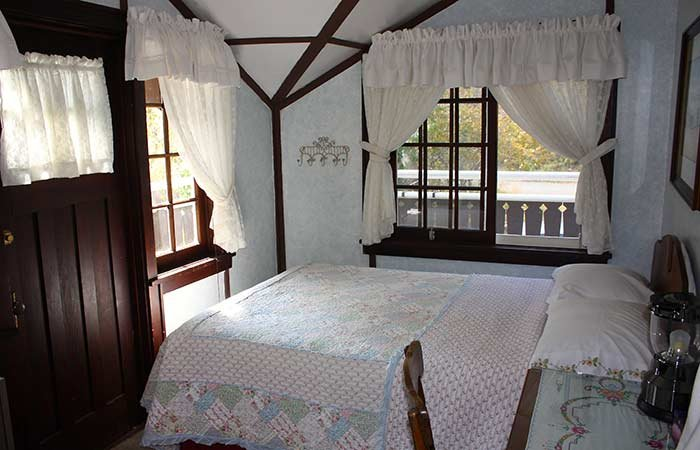 Guest Room at Danish Tree House at Northland Lodge