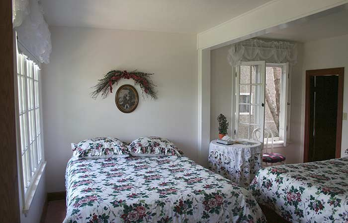 Guest Room at Northland Lodge