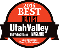 Best Dentist Utah Valley Magazine 2014
