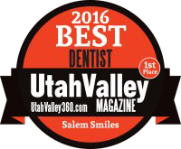 Best Dentist Utah Valley Magazine 2016