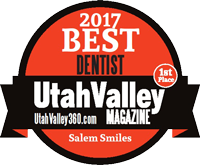 Best Dentist Utah Valley Magazine 2017