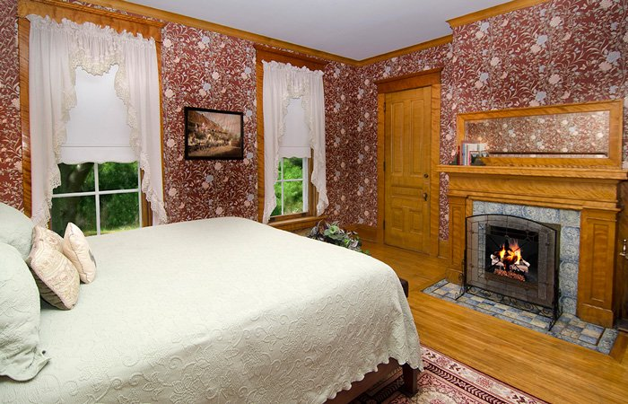 Master Suite at the Phipps Inn Bed and Breakfast in Hudson, Wisconsin