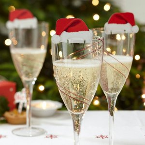 Hacienda del Sol Christmas Day Champagne Toast