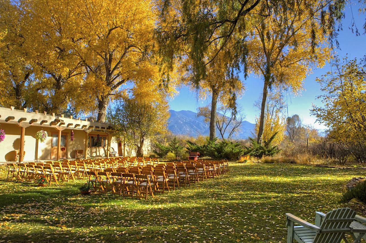 Hacienda del Sol Taos Wedding