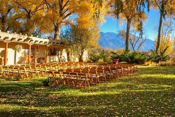 Weddings at Hacienda del Sol in Taos, NM