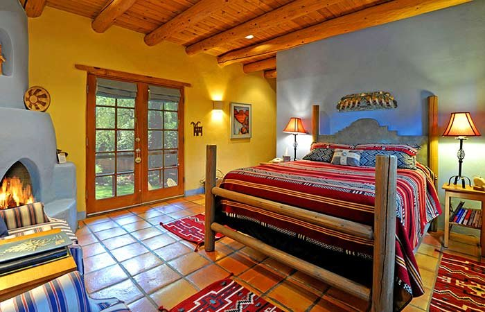 Cowboy Room at Hacienda del Sol in Taos, NM