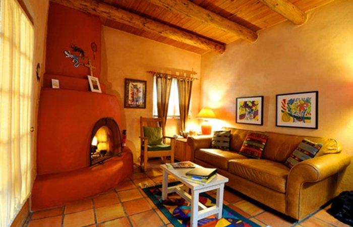 Rooms and amenities hacienda del sol taos nm lodging for Cabins in taos nm