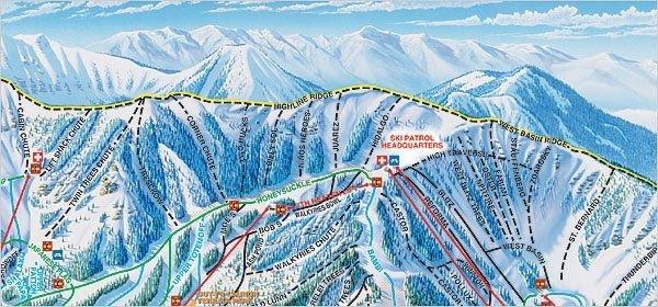 Taos Ski Valley Runs