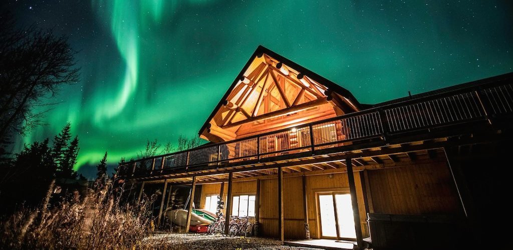 Northern Lights Autumn Fall Package at Inn on the Lake in Yukon, Canada
