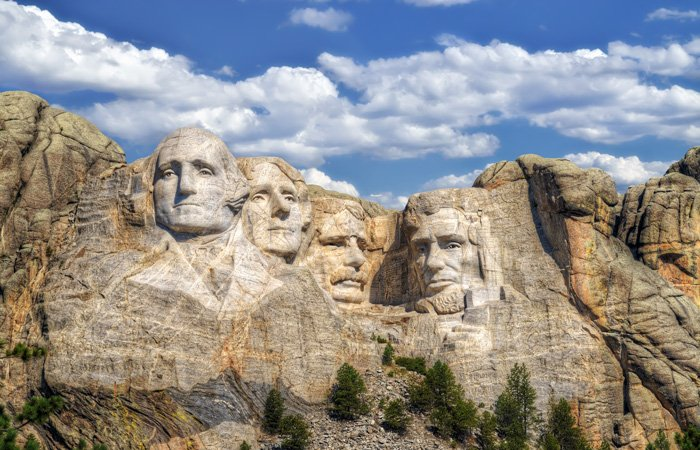 Mount Rushmore near Black Forest Inn in Rapid City, SD