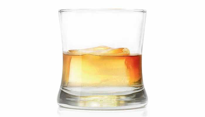 Glass of Bourbon