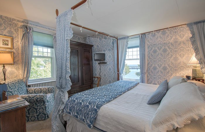 Guest Room at Harbor Knoll in Greenport, NY