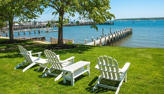 Beach Chairs at Harbor Knoll in Greenport, NY