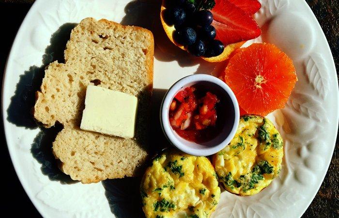 Breakfast at the Snowberry Inn Bed and Breakfast in Eden, Utah
