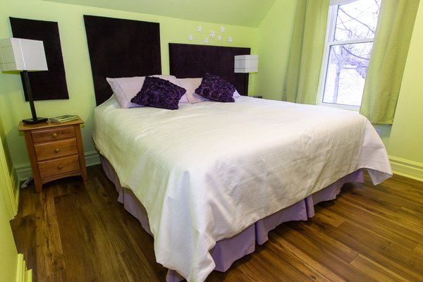 Rooms at Ambercroft Inn in Stratford, Ontario Canada