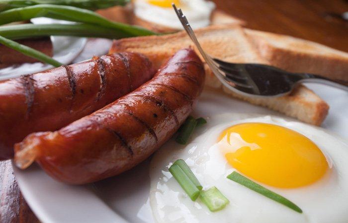 Breakfast at Alpenhorn Bed and breakfast in Big Bear Lake, California