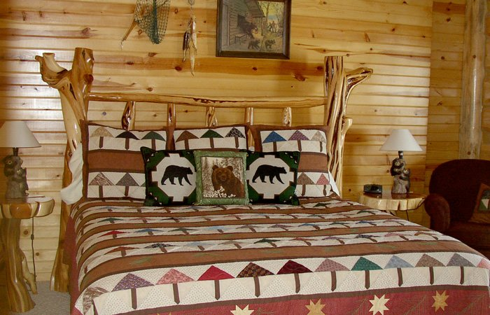 Grizzly Den room at Hayhurst Bed and Breakfast in Pine, Idaho