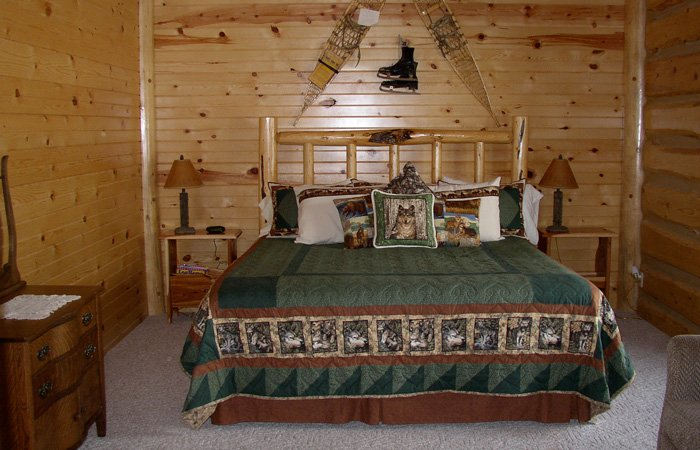 Wolf Den room at Hayhurst Bed and Breakfast in Pine, Idaho