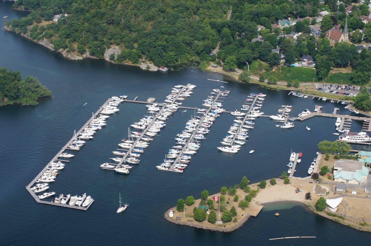 The Gananoque Marina
