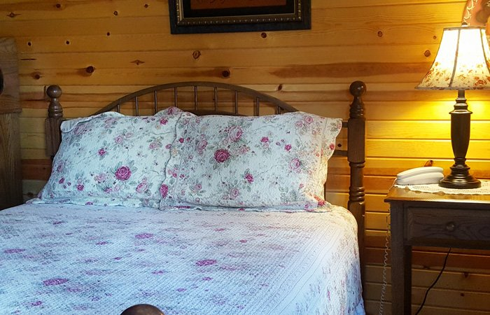 A Romantic Style Room With A 2 Person Jacuzzi, A Standing Shower Unit, And  A Queen Sized Bed. A Chair And A Half Will Pull Out To A Twin Size Bed To  ...