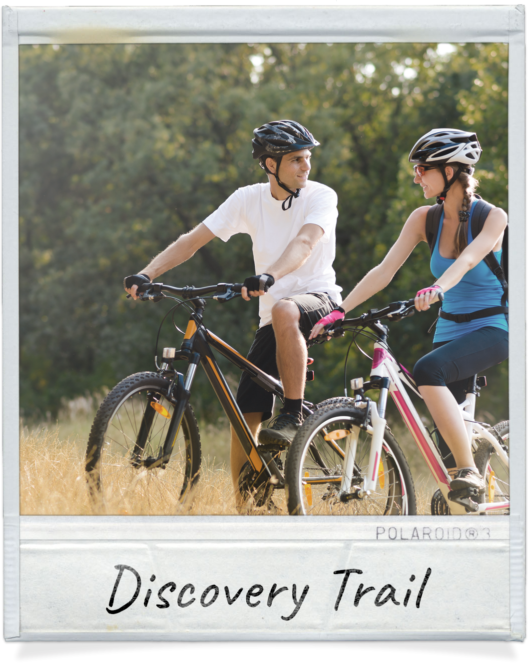 bicycling on the Discovery Trail
