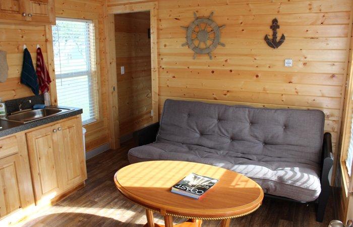 Rooms at the Westport Inn in Longbeach, Washington
