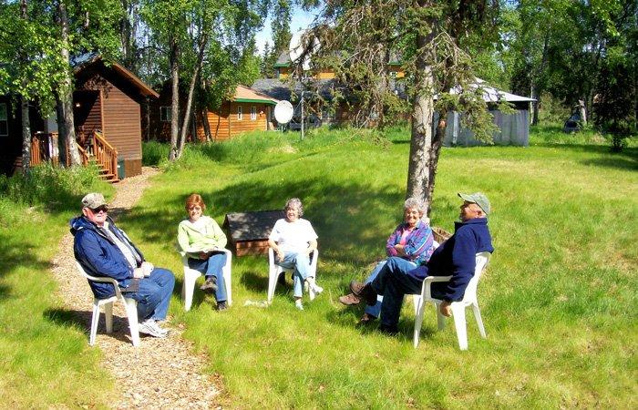 Amenites at Alaska Riverview Lodge in Kasilof, Alaska