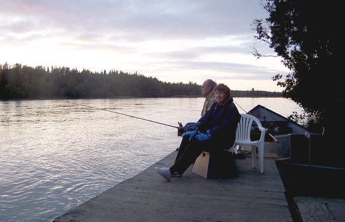 Rates at Alaska Riverview lodge in Kasilof, Alaska