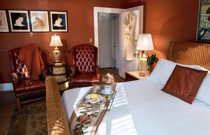 Rooms at Bischwind Inn in Bear Creek, Pennsylvania