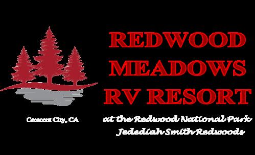 Redwood Meadows RV resort logo
