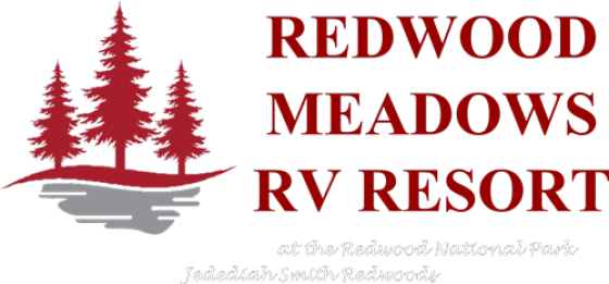 Redwood Meadows RV resort logo