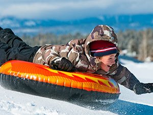snow tubing near Idaho Bed and Breakfast Association