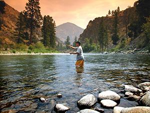 fishing near Idaho Bed and Breakfast Association