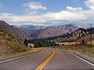 scenic byway near Idaho Bed and Breakfast Association