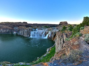 shoshone falls near Idaho Bed and Breakfast Association