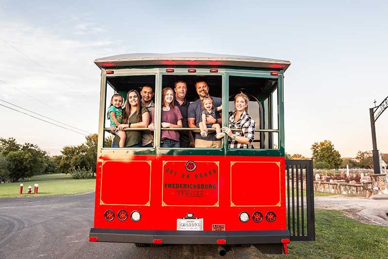 Fredericksburg Trolley Charters in Texas