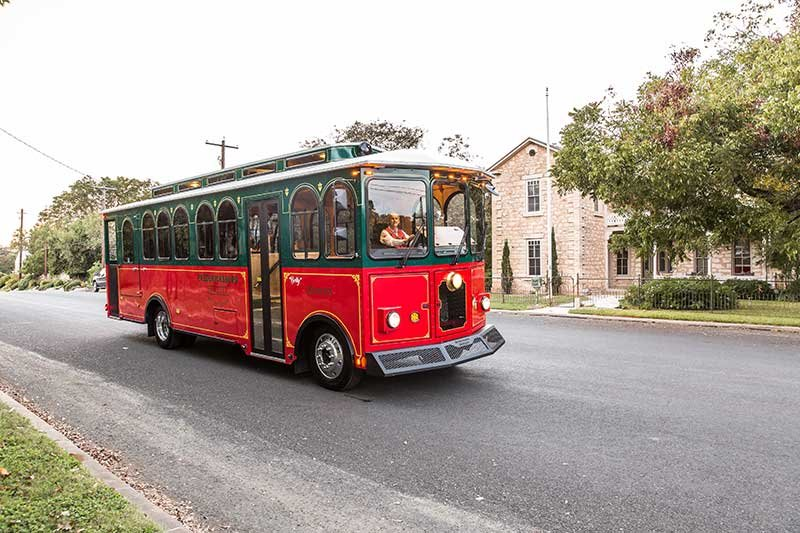 Fredericksburg Trolley Tours in Texas