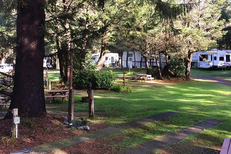 Policies at Honey Bear by the Sea RV Park in Ophir, OR
