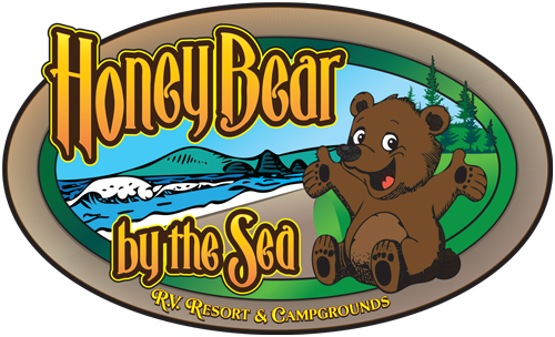 Honey Bear by the Sea Logo