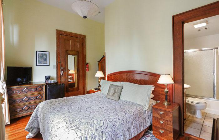 Room 7 at Parisian Courtyard Inn in New Orleans, Louisiana