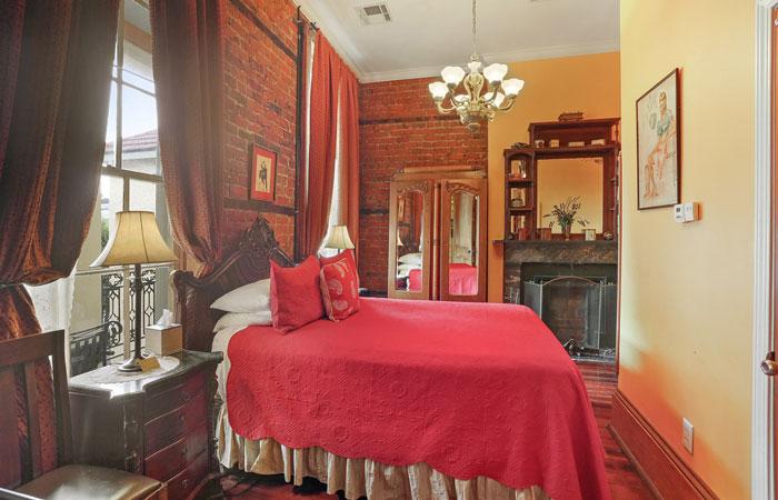 Room 6 at Parisian Courtyard Inn in New Orleans, Louisiana