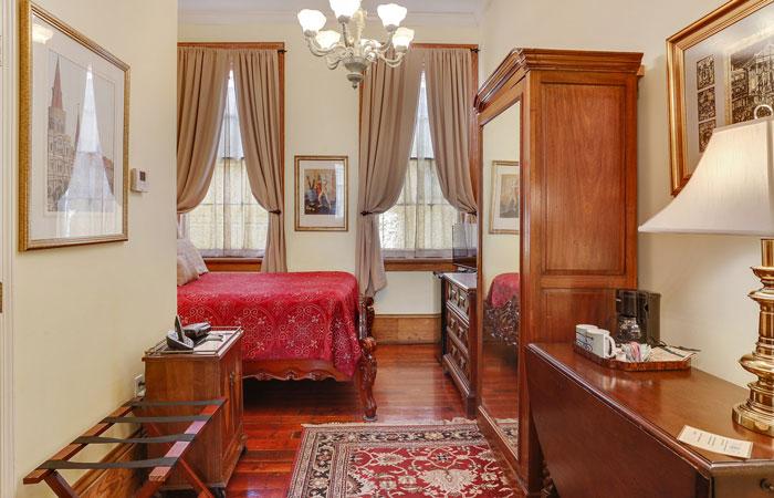 Room 5 at Parisian Courtyard Inn in New Orleans, Louisiana