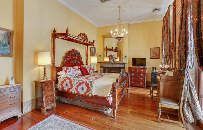 Room 4 at Parisian Courtyard Inn in New Orleans, Louisiana