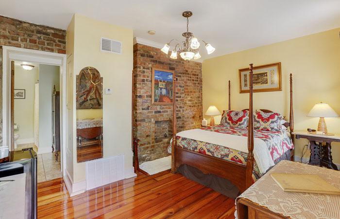 Room 3 at Parisian Courtyard Inn in New Orleans, Louisiana